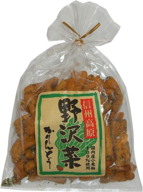 野沢菜かりんとう